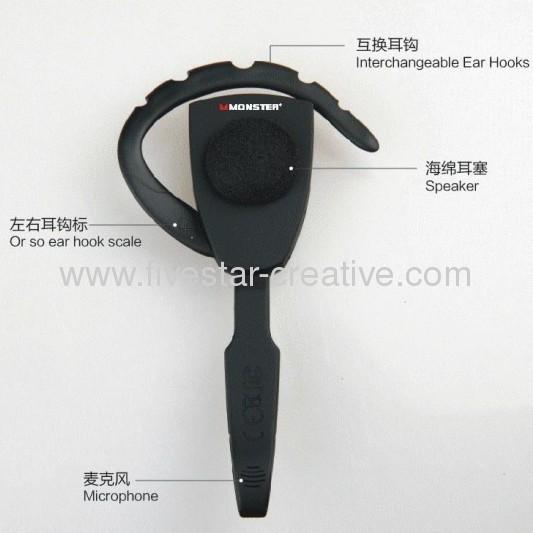 New Monster BT100 Wireless Bluetooth Headsets