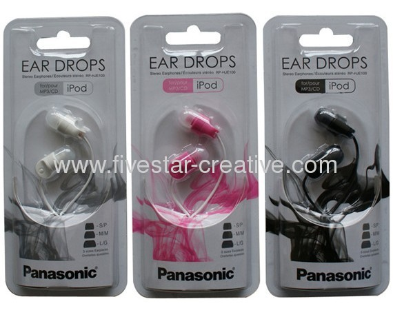 Panasonic RP-HJE100 Noise Isolation In-Ear Earphones