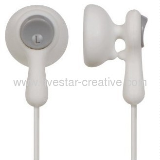 Panasonic RP-HV41 Eardrops Stereo Earbud Style Earphones Blue