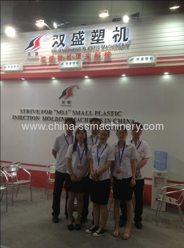 Chinaplas 2013 exhibited small and precise injection molding machine successfully