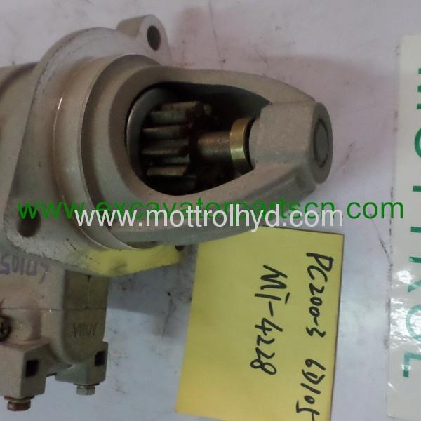 PC200-3 600-813-4120 starter motor