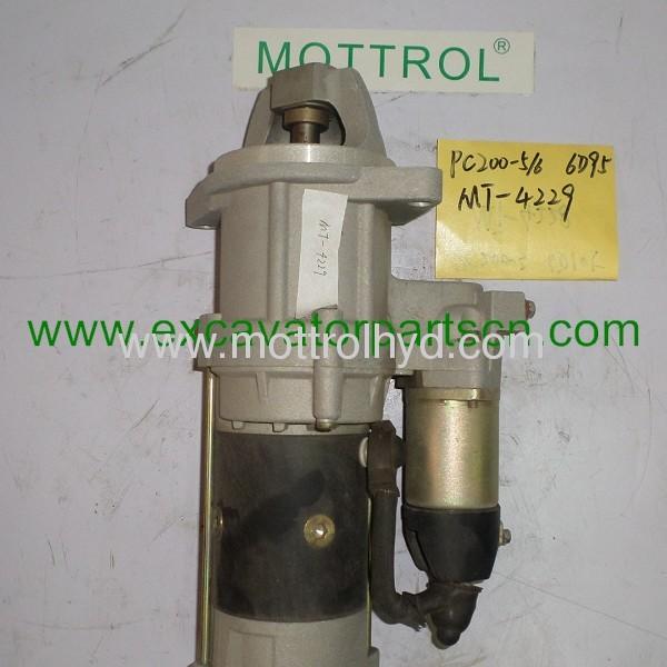 PC200-5 6D95 600-813-4421 starter motor