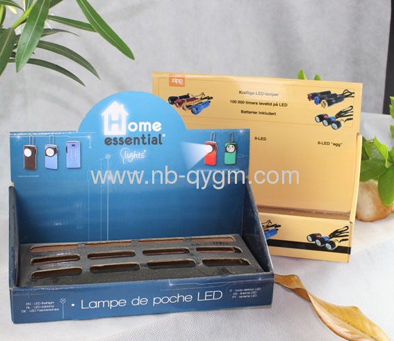 Printed Folding Counter Display boxes