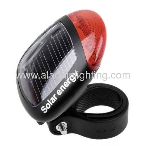 LED Solar bicycle tail light
