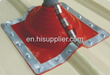 Pipe rubber roof flashing