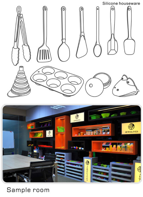 FDA kitchen utensils in pop selling