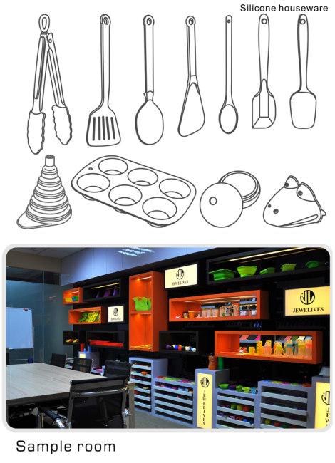 FDA kitchen utensils in pop selling