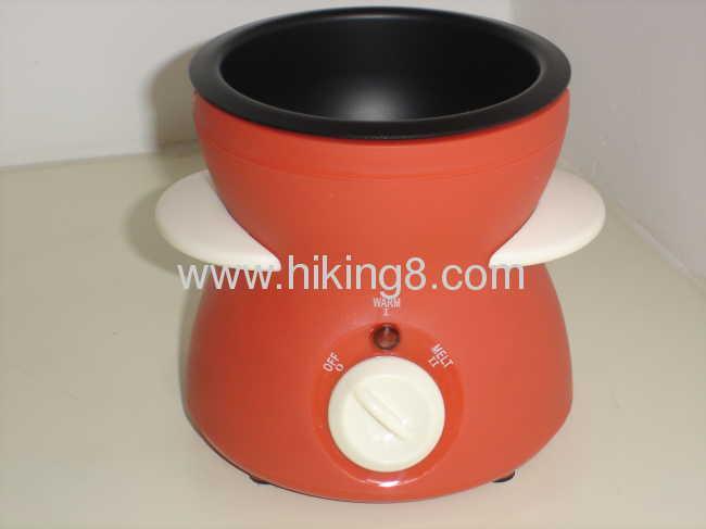 New style mini cholate melting pot