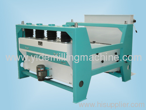 Flat rotary sieve cleanning up impurity clean machine