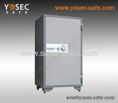Supply mechanical fireproof safe China with key lock