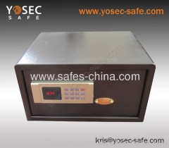 Electronic Hotel Room safes HT-20EDN with motorized locking system