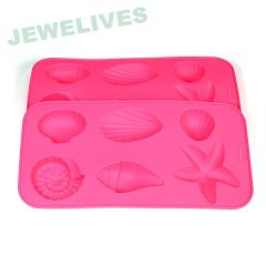 100% Food Grade Silicone mold in Ocean style