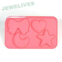 Fashion Kids Silicone toys baking mold in Food Grade