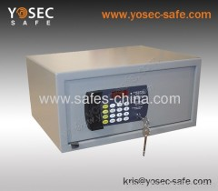 Electronic Digital hotel safe box/ Cheap hotel safe with motorized locking mechanism