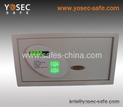 Digital Small hotel safety box/ chinese electronic safe box for hotel