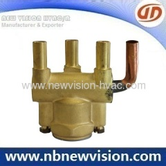 Copper Header for A/C Coils - Condenser & Evaporator