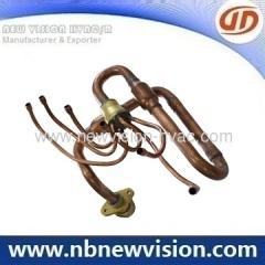 Copper Manifold for A/C Fan Coil
