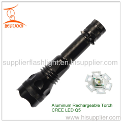 Rechargeable LED Torch Flashlight