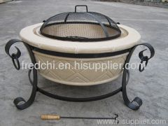 fireplace stove grill firepit heater
