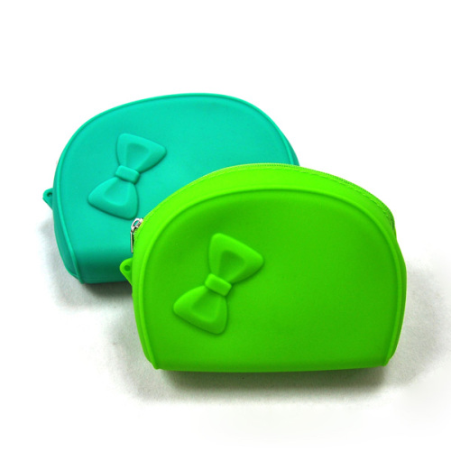 Fashiion Silicone case Pursh with Zipper