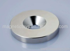 ndfeb magnet with taper hole/ndfeb magent with hole