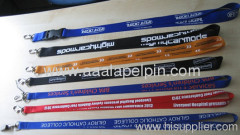 Popular nylon lanyards for promotion