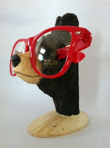 Wood Carved Animal Shape Eyewear Display Holder