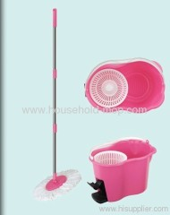 Round Spin Magic Microfiber Mop