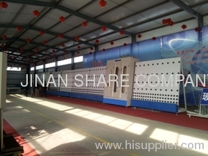 1800 plate press full-auto insulating glass production line