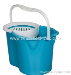 360 degree spin mop and spin dry bucket with 2 mop head