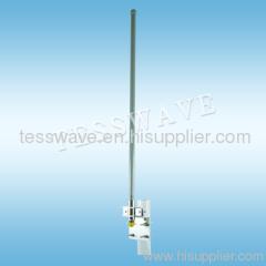 2.4GHz 6dBi outdoor fiberglass omni-directional wifi antenna
