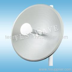 4.9-5.8GHz high gain dual polarity MIMO Dish antenna