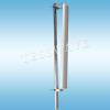 2.4GHz 18dbi 120 degree outdoor high gain wifi sector panel antenna