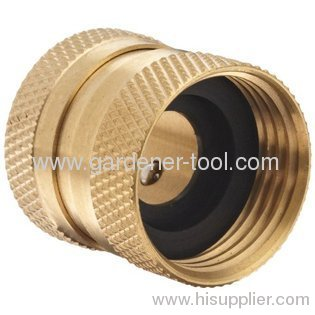 Brass American female quick connector with female thread connector