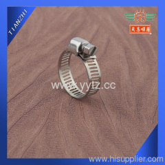 3/4  Miniature Worm Gear Hose Clamp