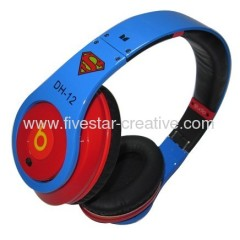 Beats Dr Dre Studio Superman Headphones by Monster