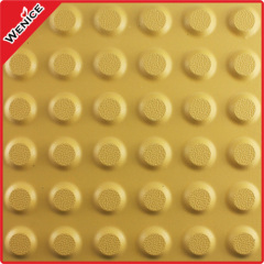 Tactile warning tile dots tactile