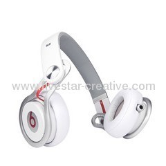 Monster Beats by Dr Dre Mixr Headphone in White