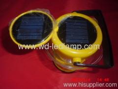 solar power camping lantern