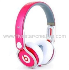Monster Beats by Dr Dre Mixr Headphones in Rose