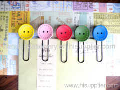metal bookmark wood bookmark paper clips