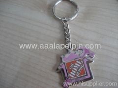 fashion personality metal keychains