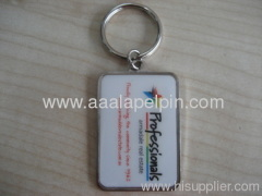 embossed enamel keychains supplier