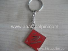 porte-clés promotionnels avec rouge