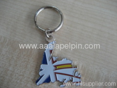 fashion painting Metal Keychain