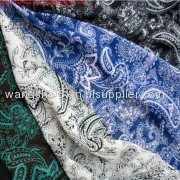 Printed Polyester Chiffon Fabric with Beautiful Printing