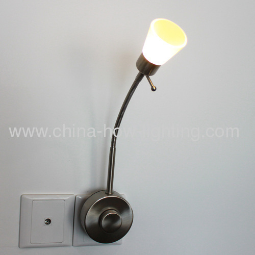 LED Plug-in Reading Lamp Dimmable with Button Control from China manufacturer - NINGBO HOW ...