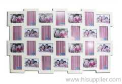 Wooden Photo Frame ,MDF, White Color