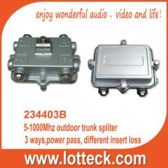 5-1000MHz outdoor trunk splitter