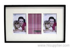 Wooden photo frame ,MDF BLACK